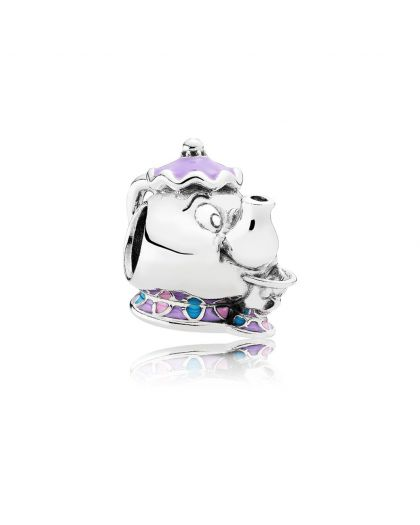 DISNEY MRS. POTTS AND CHIP SILVER CHARM
