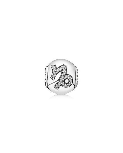 CAPRICORN ESSENCE COLLECTION CHARM IN SILVER
