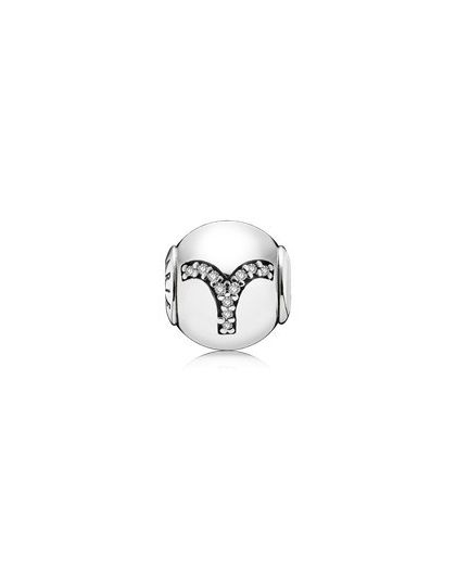 ARIES ESSENCE COLLECTION CHARM IN SILVER