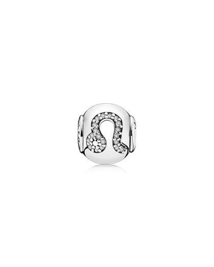 LEO ESSENCE COLLECTION CHARM IN SILVER