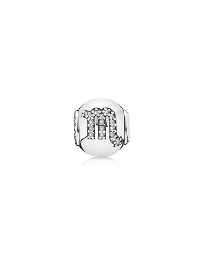 SCORPIO ESSENCE COLLECTION CHARM IN SILVER