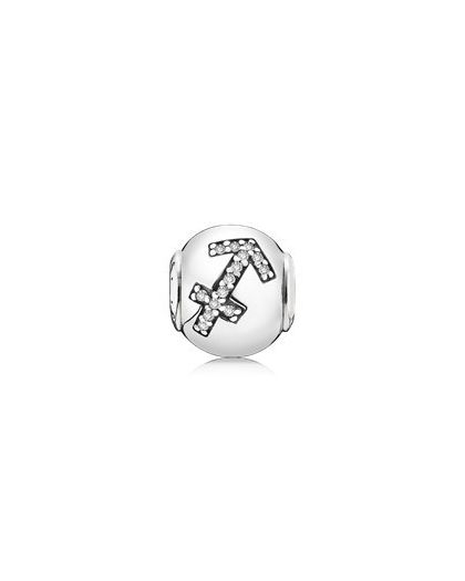 SAGITTARIUS ESSENCE COLLECTION CHARM IN SILVER